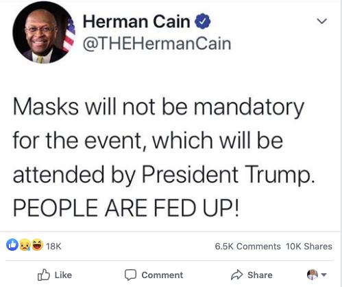 Cain mocked by Democrats