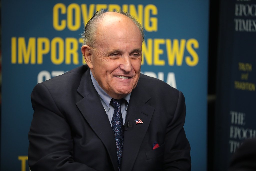 Guliani questions Barr's dedication to enforcing the law